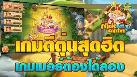 เกมตีตุ่น Mole Rat Catcher 3D วิธีการเล่น พร้อมเทคนิคการเล่นให้ได้เงิน
